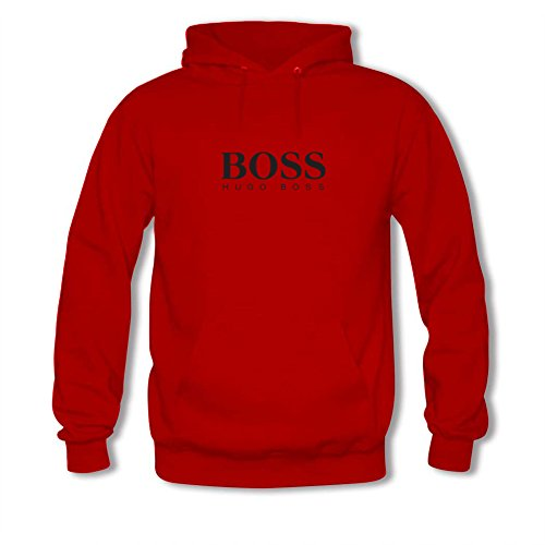 Price comparison product image Hugo Boss logo For men Printed Sweatshirt Pullover Hoody