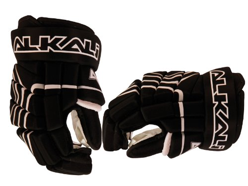 (Alkali Hockey CA5 Roller Pant (Black/Red, Junior Large))