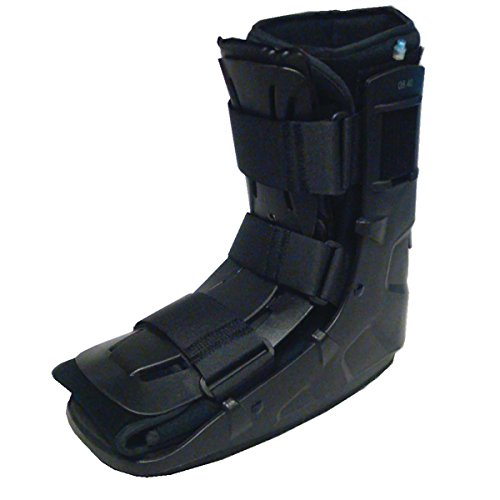Sammons Preston Low Top Shell Ankle Walker Small, Immobilization and Stabilization of Foot & Ankle Fractures & Sprains, Designed to Facilitate Natural Steps, Comfortable Prolonged Wear (Hip Kit 6 Piece Deluxe)
