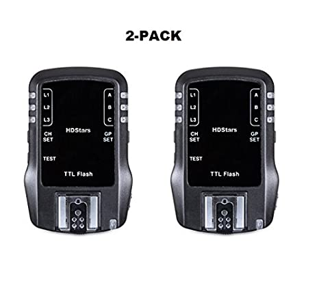 Amazon com : { WIRELESS TTL FLASH TRANSCEIVER } 2 4Ghz 7