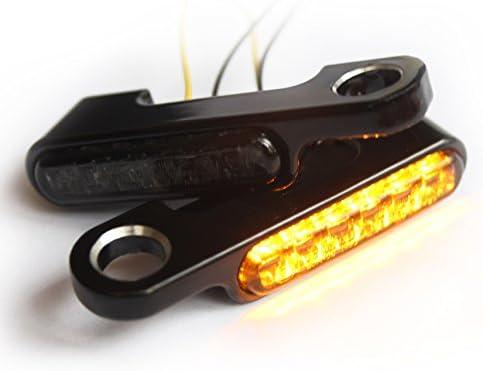 Iron Optics Clignotants /à LED pour guidon de moto