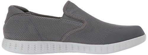 Skechers Mens On-the-go Glide-53783 Wandelschoen Houtskool