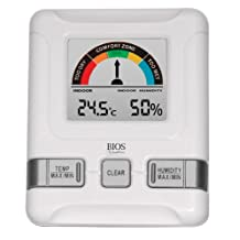 Bios Thermor Indoor Hygrometer with Comfort Scale