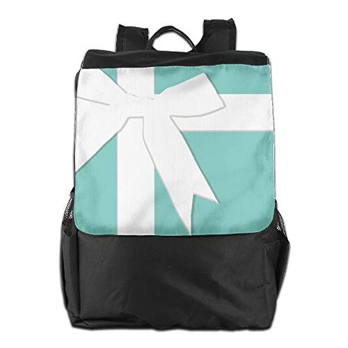 Beach Surfer Travel Backpacks Blue Tiffanys Inspired Turquoise Please Return Designer Knapsack Polyester Multifunction -