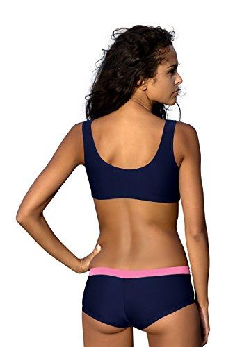 da Set Stile LO11S V14 Donna Sport Bikini Costume Bagno Pezzi due Costumi wnZXHpq