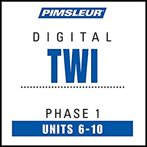 Twi Phase 1, Unit 06-10 Audiobook