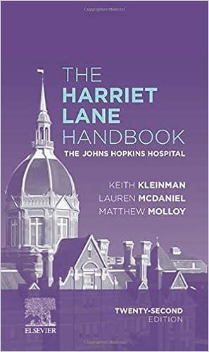 The Harriet Lane Handbook E-Book: The Johns Hopkins Hospital (Mobile Medicine), 22nd Edition - Original PDF