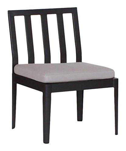 Sierra Dining Chair - Koverton Armless Serene Dining Chair, SPECTRUM SIERRA-Cocoa spice Frame