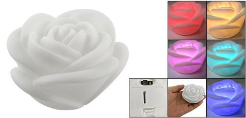 Led Color Changing Rose Shaped Light in US - 9
