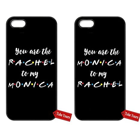 promo code 499b9 1c4e6 Amazon.com: Match Couple Phone Case You're The Rachel To My Monica ...