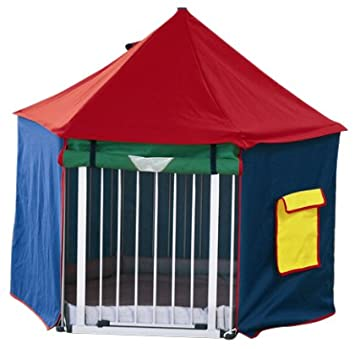 BabyDan BabyDen Playpen Playtent (Multicoloured)  sc 1 st  Amazon UK & BabyDan BabyDen Playpen Playtent (Multicoloured): Amazon.co.uk: Baby