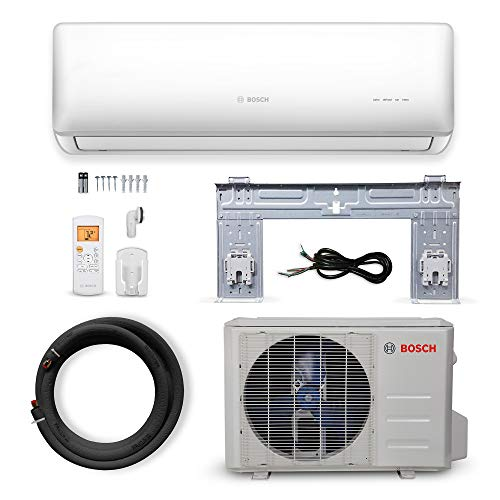 Bosch Thermotechnology Bosch Ultra-Quiet 30K BTU 230V Mini Split Air Conditioner & Cooling System Generation 2 with…
