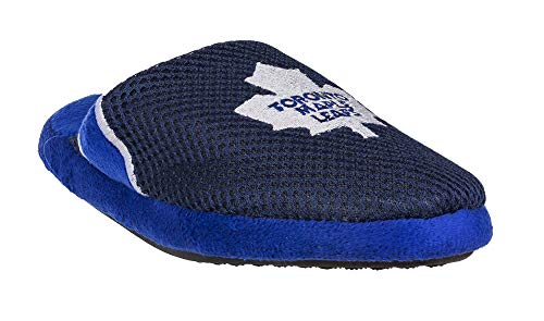 free shipping 9fe20 5578b NHL Toronto Maple Leafs Kid s Jersey Slippers - XLarge