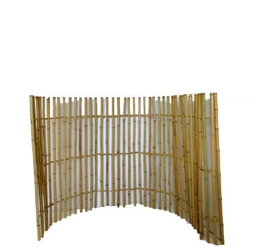 Ornamental Bamboo Fence, 3'H x 6'L