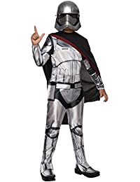 Star Wars: The Force Awakens Childs Captain Phasma Costume, Small