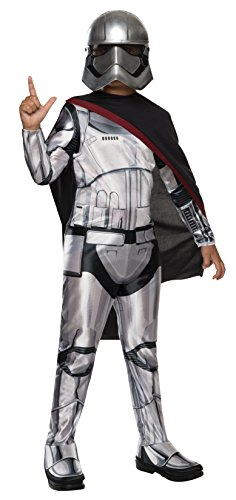 Star Wars: The Force Awakens Child's Captain Phasma Costume, Large - Gangster Girl Costumes Ideas
