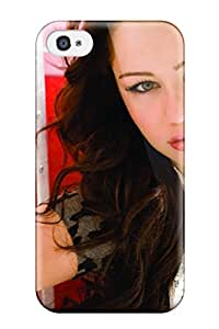 Cute High Quality Iphone 4/4s Miley Cyrus Fly On The Wall Case
