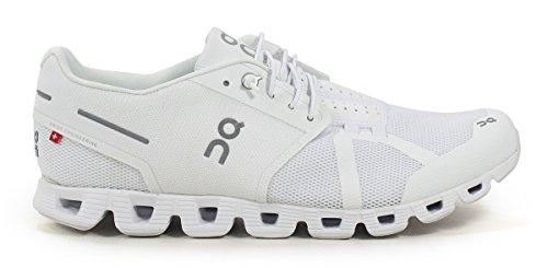 Su Cloud Mens Tutte Le Sneaker Bianche