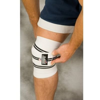 Knee Pads/Support - 78 IN Heavy Duty Knee Wraps  - SAFETY-SI