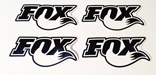 Fox Racing Shox 4 NEW Decals / Stickers Forks Shock 6