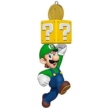 Image Unavailable. Image not available for. Color: Hallmark Super Mario  Luigi Keepsake Ornament - Amazon.com: Hallmark Super Mario Luigi Keepsake Ornament: Home & Kitchen