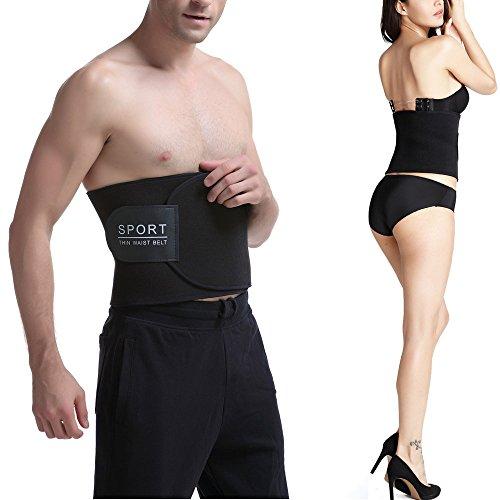 waist trimmer belt slimming fast unisex (Medium) - 9