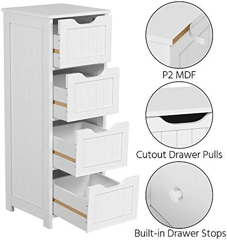 home, kitchen, furniture, accent furniture,  storage cabinets 12 on sale Yaheetech Bathroom Floor Cabinet, Wooden Side Storage Organizer in USA