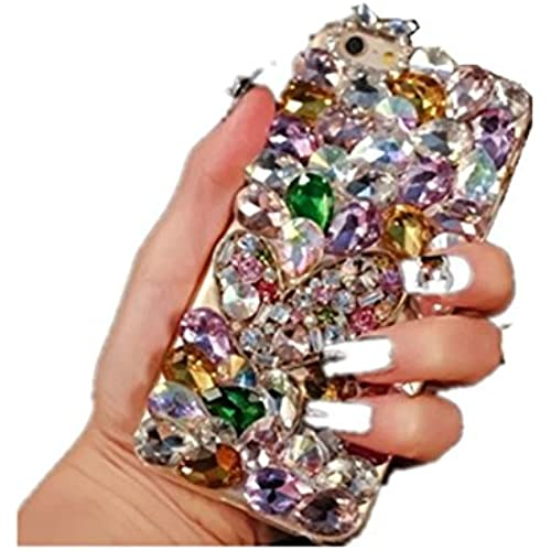 Galaxy S7 Case,Galaxy S7 Crystal Rhinestone Case,Luxury Bling Diamond Crystal Rhinestone Droplets Rhinestone Clear Sales