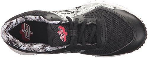 New Balance Boys' TY4040 Turf Baseball Shoe, Black/White, 6 M US Big Kid by New Balance (Image #8)