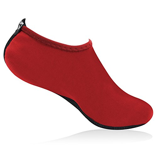 Lakeland Active Women's Solway Barefoot Aqua Sock Red voFfs