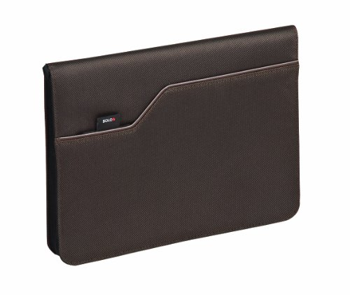 Solo Studio Collection iPad and e-Reader Jacket with Zipper, 9.7 Inches, Chestnut, LVL106-3