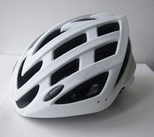 Ying-CC ヘルメット ヘルメット自転車サイクリング自転車ヘルメットバイクヘルメットマウンテンロードバイク一体成形サイクリングヘルメットホワイト55Cmx61Cm 自転車