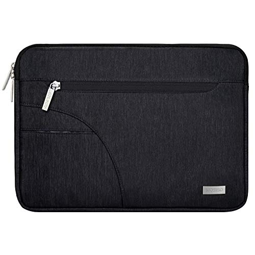 MOSISO Laptop Sleeve Bag Compatible 15-15.6 Inch MacBook Pro, Ultrabook Netbook Tablet, Polyester Fabric Protective Carrying Case Cover, ()