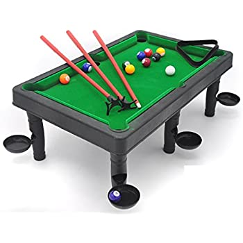 Amazoncom World Champion Mini Pool Set Portable Pool Ball Game - Pool table scorekeeper