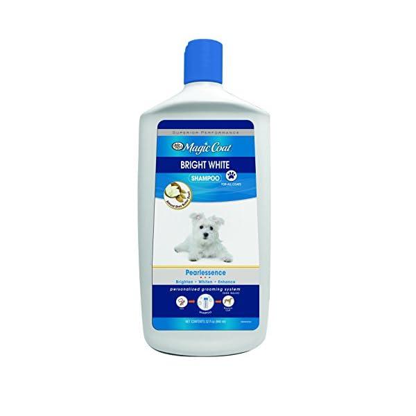 Four Paws Magic Coat Bright White Dog Shampoo, 32 oz 1