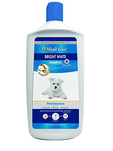 Four Paws Magic Coat Bright White Dog Shampoo, 32 oz