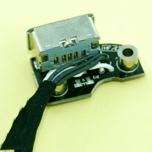 "Ronsit POWER AC DC JACK Board for MacBook Pro Unibody 13.3"" A1278 A1297 and 15.4"" A1286 2009 2010 2011 820-2565-A"