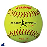 Champro Practice Softball, Optic Yellow, 11''