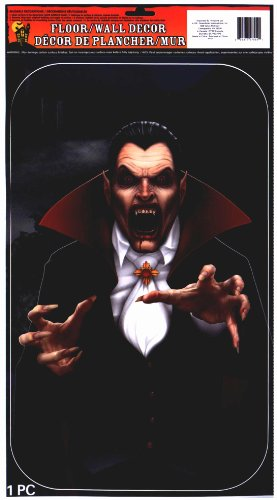 Halloween Window Cling 1 Image: Vampire