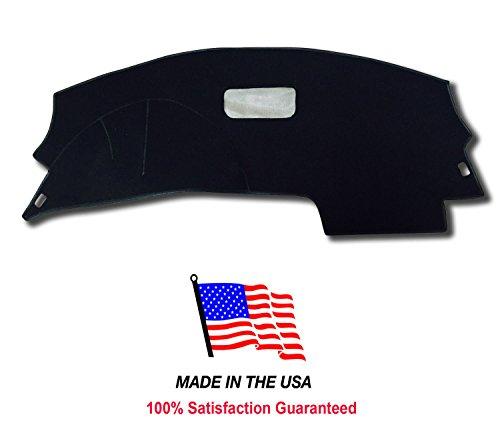 PRC 1995-2005 Chevy Cavalier Carpet Dash Cover CH71 (Black) -