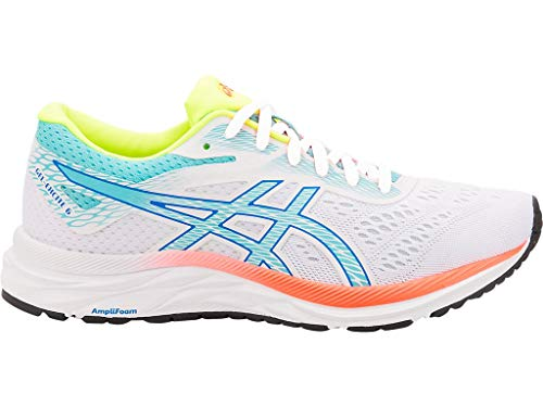 ASICS Women's Gel-Excite 6 SP Running Shoes, 9.5M, White/ICE Mint (Best Asics Cushioned Running Shoes)