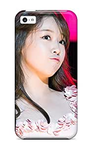 Tpu Case Cover For Iphone 5c Strong Protect Case - Girl's Day Design