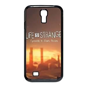 La vida es extraña C5B9Xt Funda Samsung Galaxy S4 caja del teléfono celular 9500 funda Negro J2R5AJ caja del teléfono funda único personalizado