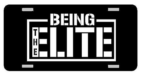 BEING ELITE BULLET CLUB CAR TAG