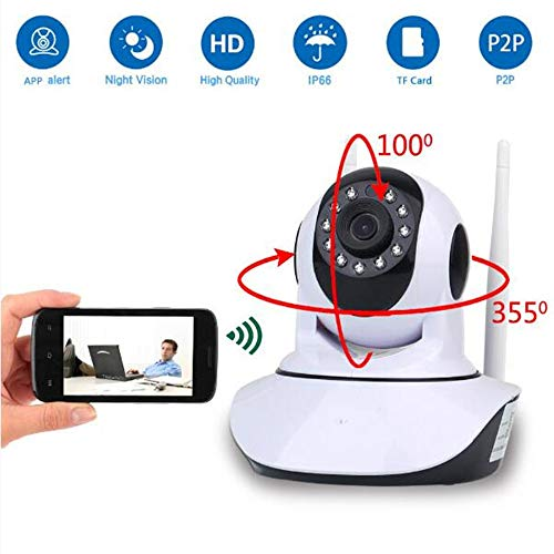 - ZQG BEAUTEY Camera HD 1080P 2MP Home Wireless IP 360 Mini Video WifiCCTV WiFi Infrared Baby Monitor ipcam APP