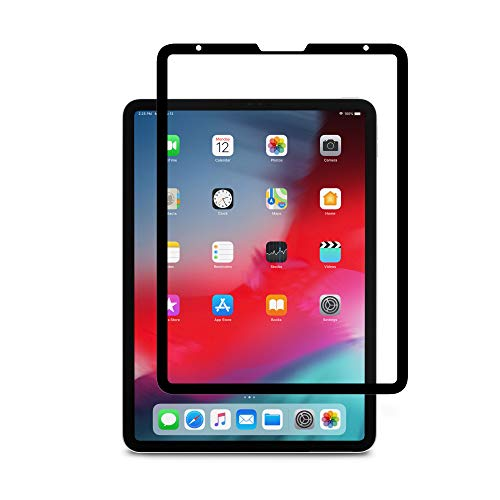 Moshi iVisor AG Screen Protector for iPad Pro 11-inch, 100% Bubble-Free and Washable, Compatible with Apple Pencil, ()