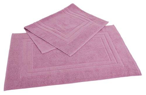 Calcot Growers Collection 100-Percent Zero-Twist Supima Cotton 2-Piece Bath Mat Set, Cherry Blossom - Blossom Green Rug