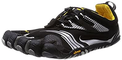 Vibram FiveFingers Men's KMD Sport LS Barefoot Shoes Black / Silver / Grey 49