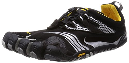 Vibram Men's KMD LS Cross Training Shoe, Black/Silver/Gre...