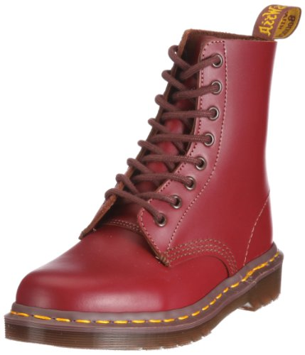 Dr. Martens 1460, Botas Militares Unisex Adulto Rojo